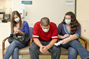 Légfertőtlenítés az orvosi váróban