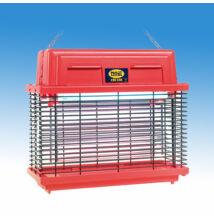 Moel Elektromos rovarcsapda, hatósugár: 14 m, 2x15 W-os fénycsővel, piros burkolattal
