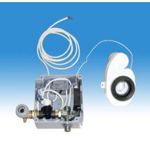 Egyedi piszoár-öblítő, hőérzékelős kivitelben, műanyag előlappal, 230 V