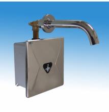Falbaépíthető infrás csaptelep hideg, vagy kevert vízre, eXkluzív rejtett csavarozású előlappal, doboz feletti csapkifol