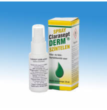Clarasept Derm kéz- bőrfertőtlenítőszer, szintelen, 30 ml-es, szórófejes