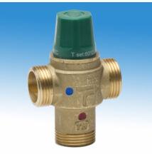 """Thermomat Termosztatikus keverőszelep kondenzáció elleni kapcsolású rendszerekhez 1""""-os, 50 °C (külsőmenetes), 45 l/perc"""