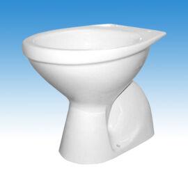 WC csésze, porcelán WC, fali WC, hátsó kifolyású WC