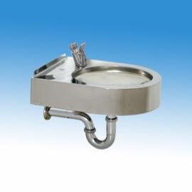Falra szerelhető rozsdamentes ivókút I5261M típusú nyomógombos fejjel