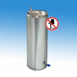 Álló ivókút érintésmentes, pedálos működtetésű ivókút csapteleppel