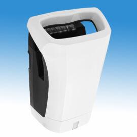 Kézbedugós, nagysebességű, alacsony hőmérsékletű infrás kézszárító gép, ABS burkolattal,  (1200 W, 600 km/h), fehér, szű