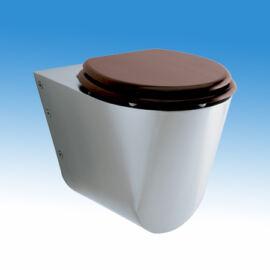 hátsó kifolyású WC csésze,WC kagyló,falra szerelhető WC csésze,rozsdamentes WC