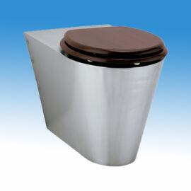 álló WC csésze,hátsó kifolyású WC csésze,rozsdamentes WC,WC kagyló