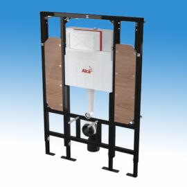 Falba építhető szerelőkeretes WC tartály,  kiegészítő szerelőkerettel kapaszkodó rögzítéséhez
