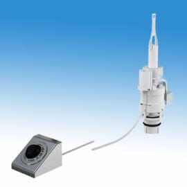 Pneumatikus öblítő szett falra szerelhető rozsdamentes lábkapcsolóval a BKH4510311 és a BKH4530111 öblítőtartályhoz