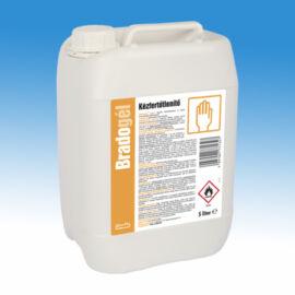 Bradogél alkoholos gél állagú kézfertőtlenítőszer 5L-es kiszerelésben, baktericid, szelektív virucid (burkos vírusokra)