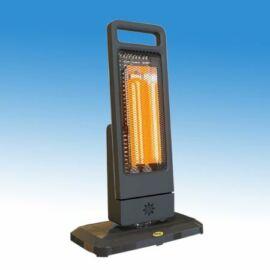 Moel GUADALUPE elektromos hősugárzó, infrafűtés rubin, álló kivitel, 1200 W-os, 230 V, távirányítóval