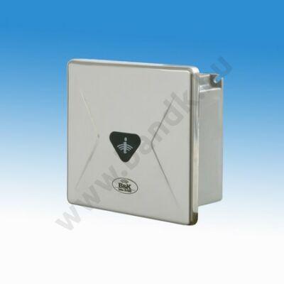 Infrás csoportos piszoár-öblítő érzékelő eXkluzív rejtett csavarozású előlappal, 150 mm-es műanyag doboz, 230 V AC tápeg