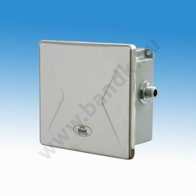 """Hőérzékelős egyedi piszoár-öblítő eXkluzív rejtett csavarozású előlappal, 3/8""""-os műanyag szeleppel, 230 V AC tápegységg"""