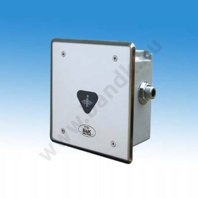 """Infrás egyedi piszoár-öblítő frontcsavarozású előlappal, 3/8""""-os műanyag szeleppel, 230 V AC tápegységgel"""