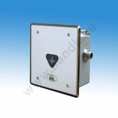 Infrás egyedi piszoár-öblítő frontcsavarozású előlappal, 230 V AC tápegységgel
