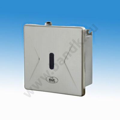 Infrás egyedi piszoár-öblítő rejtett csavarozású előlappal, 230 V AC tápegységgel