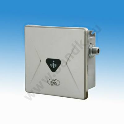 """Víztakarékos öblítésű infrás egyedi piszoár-öblítő eXkluzív rejtett csavarozású előlappal, 3/8""""-os műa. sz. 230V AC"""