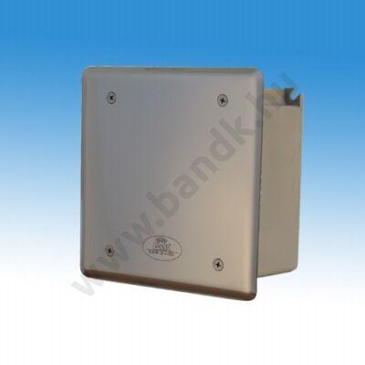 Hálózati transzformátor 5 db 24 V AC kimenettel, frontcsavarozású előlappal, 150 mm-es műanyag dobozban, max 30 VA