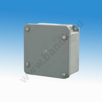 Hálózati transzformátor 3 db 24 V AC kimenettel, műanyag előlappal, 100 mm-es műanyag dobozban, max 20 VA