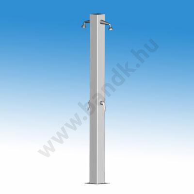 Kétkaros szabadtéri zuhanyoszlop (150x150) keverőkaros csapteleppel