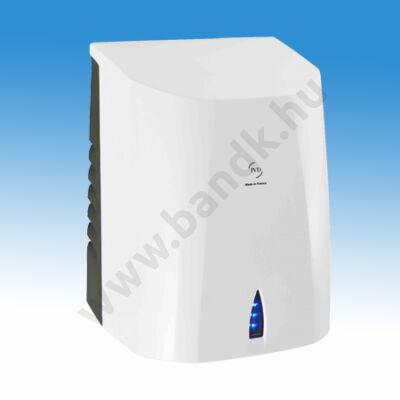 Nagysebességű, alacsony hőmérsékletű infrás kézszárító gép IK9 ABS burkolattal,  (500 W), fehér