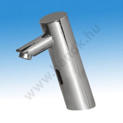 EAST infrás, mosdó csaptelep hideg, vagy kevert vízre, flexibilis bekötőcsővel, 230/ 6V DC tápegységhez