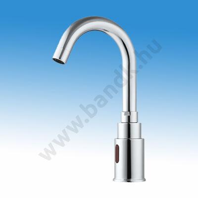 WEST Infrás mosdócsap hideg, vagy kevert vízre, 6 V DC elemes/230V AC tápegységgel