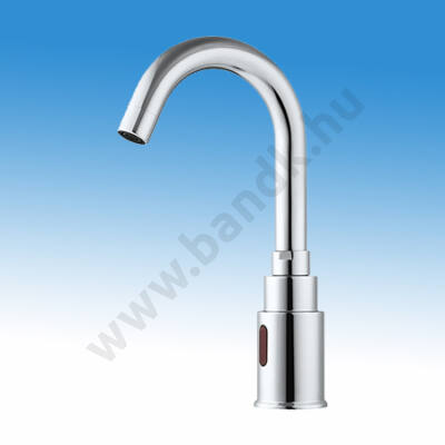 WEST Infrás mosdócsap hideg, vagy kevert vízre, 6 V DC elemes/230V AC