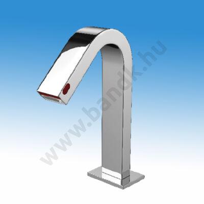 WEST infrás mosdócsap szappanadagolóval, hideg vagy kevert vízre, 6 V DC elemes/230V AC