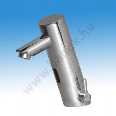 EAST infrás, mosdó csaptelep hideg és meleg vízre, flexibilis bekötőcsővel, 230/ 6V DC tápegységhez