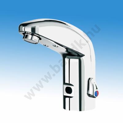 Idral ONE infrás mosdó csaptelep, hideg és meleg vízre, 230/6 V DC