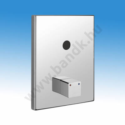 Idral Infrás zuhanycsaptelep H-M vízre, keverőegységgel, falon belül, 6 V-os elemes