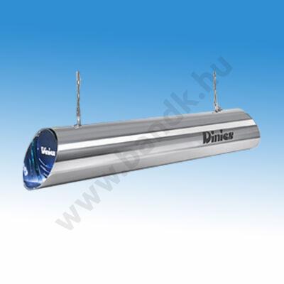UV-C levegő fertőtlenítő berendezés rozsdamentes burkolattal 400 m3 hatóterülettel, 4x79 W-os fénycsővel