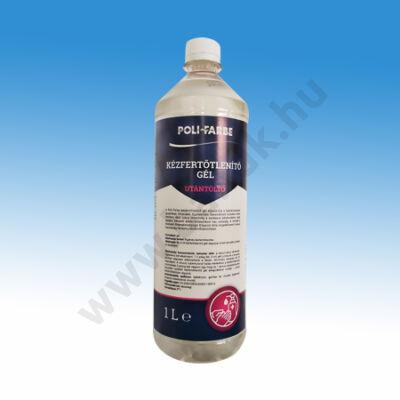 Poli-Farbe alkoholos kézfertőtlenítő gél 1 l-es kiszerelésben