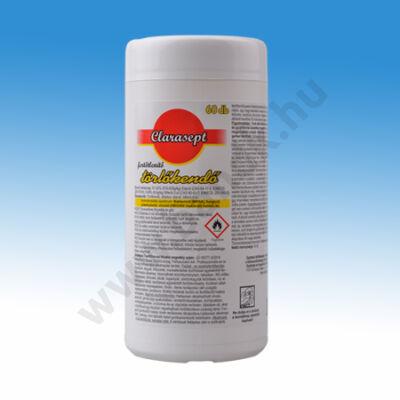 Clarasept fertőtlenítő törlőkendő 60 db-os dobozos kiszerelésben