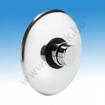 Idral Időzített, nyomógombos zuhanycsaptelep, falba süllyeszthető, kevert vízre (15±3 mp)