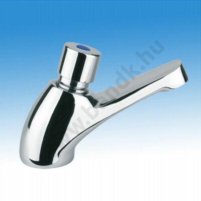 Idral Időzített, nyomógombos mosdócsaptelep, kevert vízre (15±3 mp)
