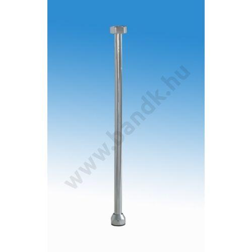 """Silfra Egyenes rézcső 1/2""""-d12x300 mm (pissoirhoz), krómozott"""