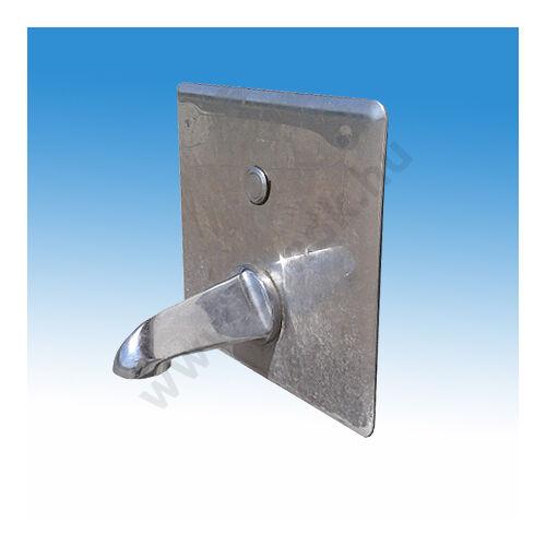 Elektronikus vezérlésű falikút és vízvételi  egység, nyomógombbal, fagyvédelmi leeresztő szeleppel, 230V AC tápegységgel