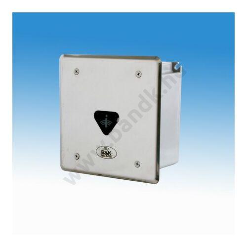 Infrás csoportos piszoár-öblítő érzékelő frontcsavarozású előlappal, 230 V AC tápegységgel