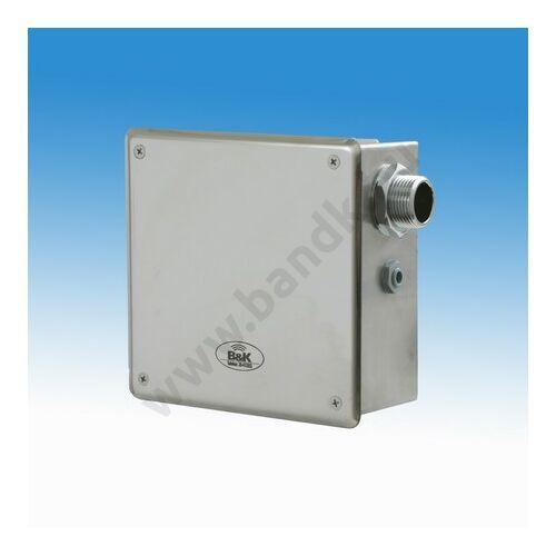 Szelepegység 110 l/min névleges átfolyással, frontcsavarozású előlappal 170, mm-es rozsdam. dobozban, RBM szűrővel, 24 V