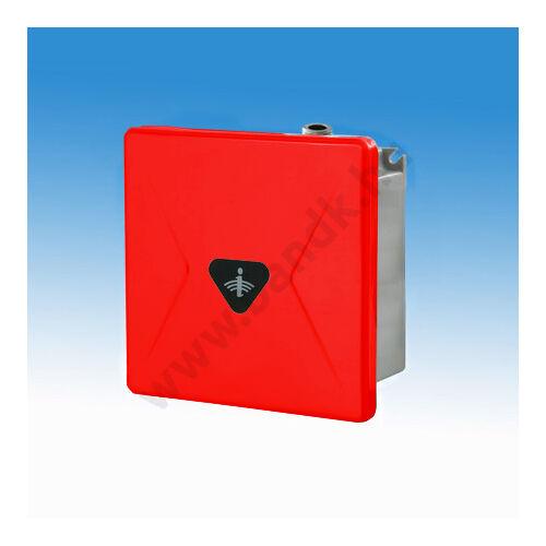 Infrás egyedi piszoár-öblítő, rejtett csavarozású színes* előlappal, 230 V AC