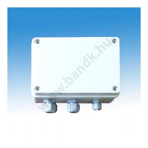 Központi tápegység maximum 10db 24V-os piezzo nyomógombos zuhanyhoz