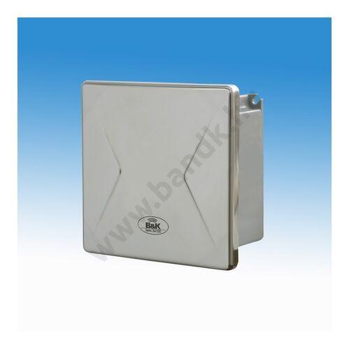 Hálózati transzformátor 5 db 24 V AC kimenettel, rejtett csavarozású előlappal, 150 mm-es műanyag doboz, 30 VA