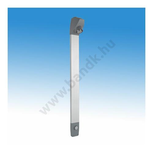 Idral Burkolt zuhanyrendszer kevert vízre, időzített, nyomógombbal, fix zuhanyfejjel, felső, vagy hátsó becsatlakozással