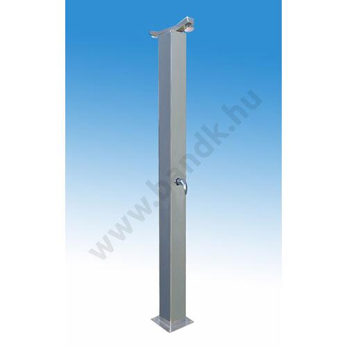 Kétfejes szabadtéri zuhanyoszlop (150x150) keverőkaros csapteleppel