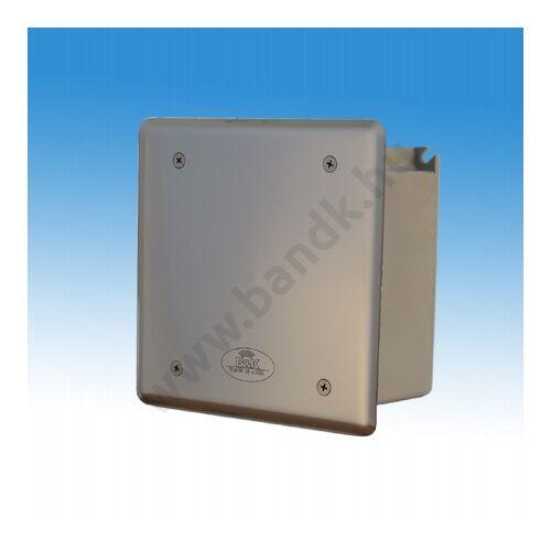 Időzítő egység csoportos pissoir-szelepegységhez, frontcsavarozású előlappal, 150 mm-es műanyag dobozban, 230 V