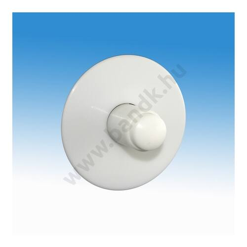 Időzített, nyomógombos zuhanycsaptelep, falba süllyeszthető, műanyag gombbal, kevert vízre (30±10 mp)