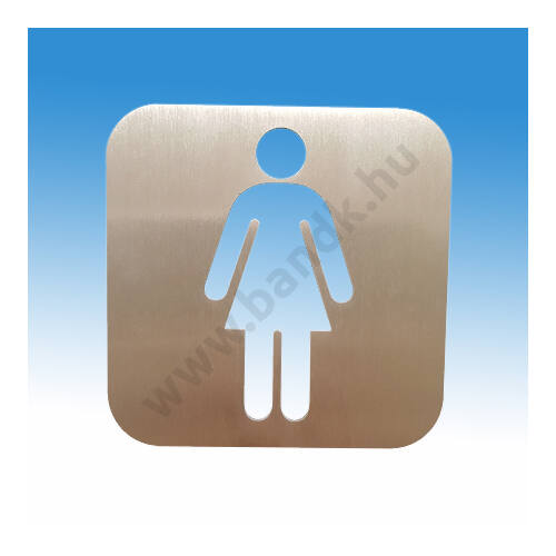 WC piktogram,női WC piktogram,piktogram